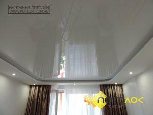 Натяжные потолки белые фото наших работ, компания производитель Потолок Мастер.