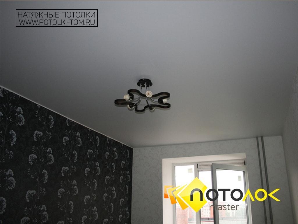 Натяжные матовые потолки фото