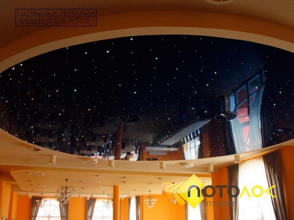 Черный натяжной потолок стоимость в Томске и Северске. Рассчитать стоимость натяжного потолка.