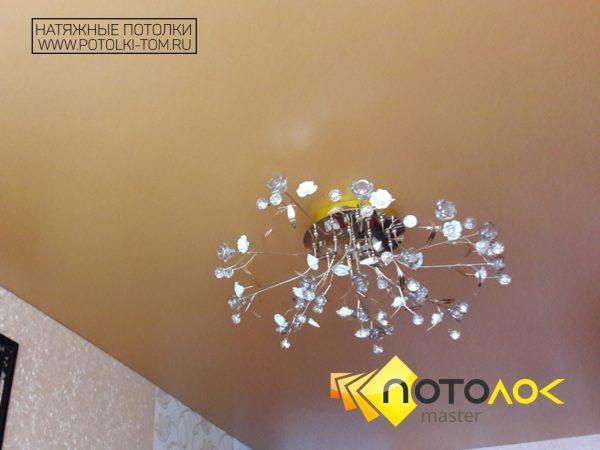 Тканевый натяжной потолок для зала фото
