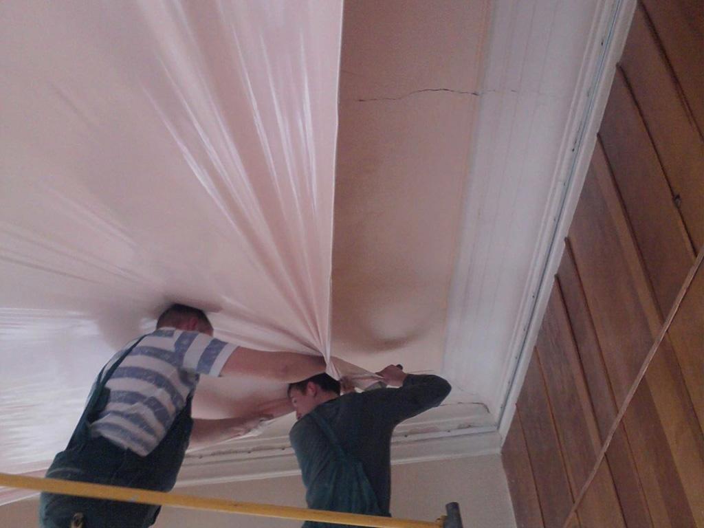 Монтаж натяжного потолка в Томске, потолки любой сложности с установкой под ключ, гарантия, безопасный монтаж.