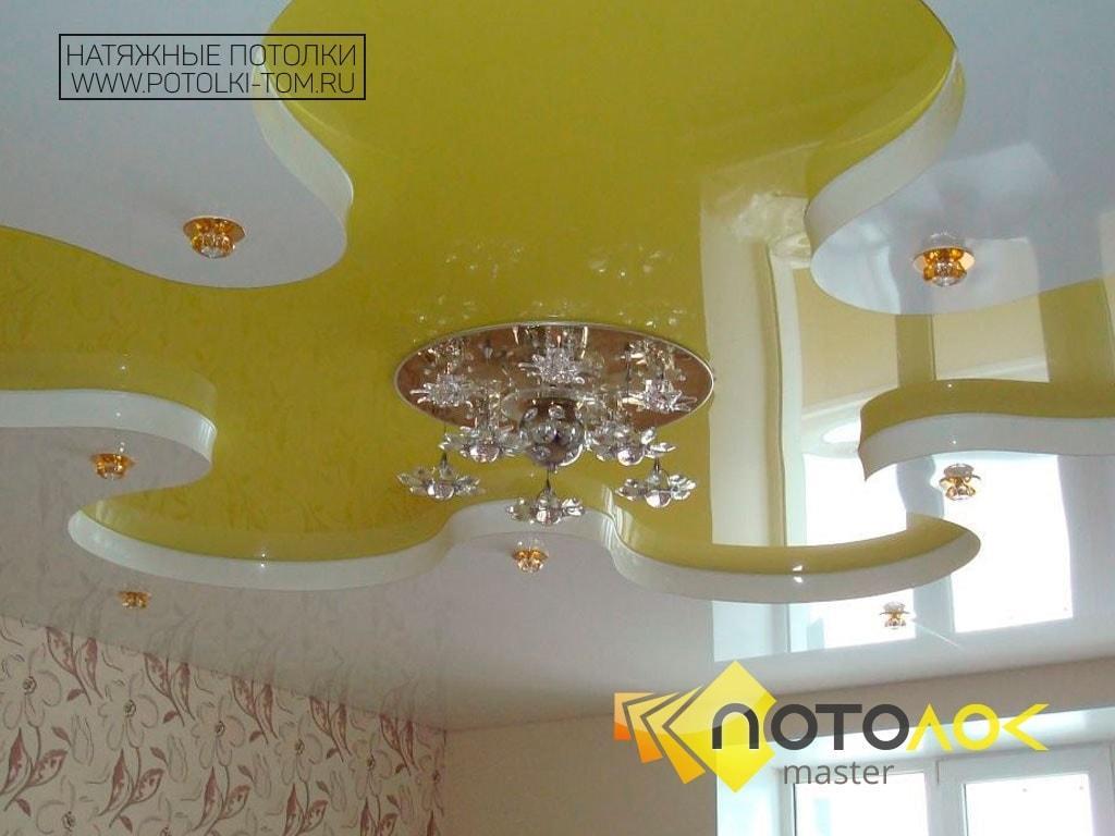 Натяжной потолок в детской от производителя в Томске и Северске.