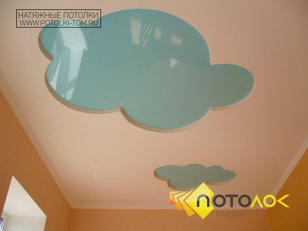 Натяжные потолки для детской фото