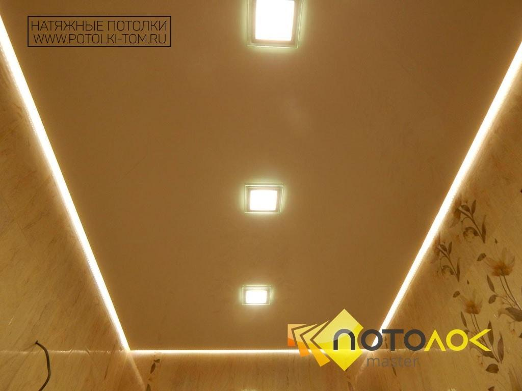Парящий натяжной потолок от производителя в Томске и Северске.