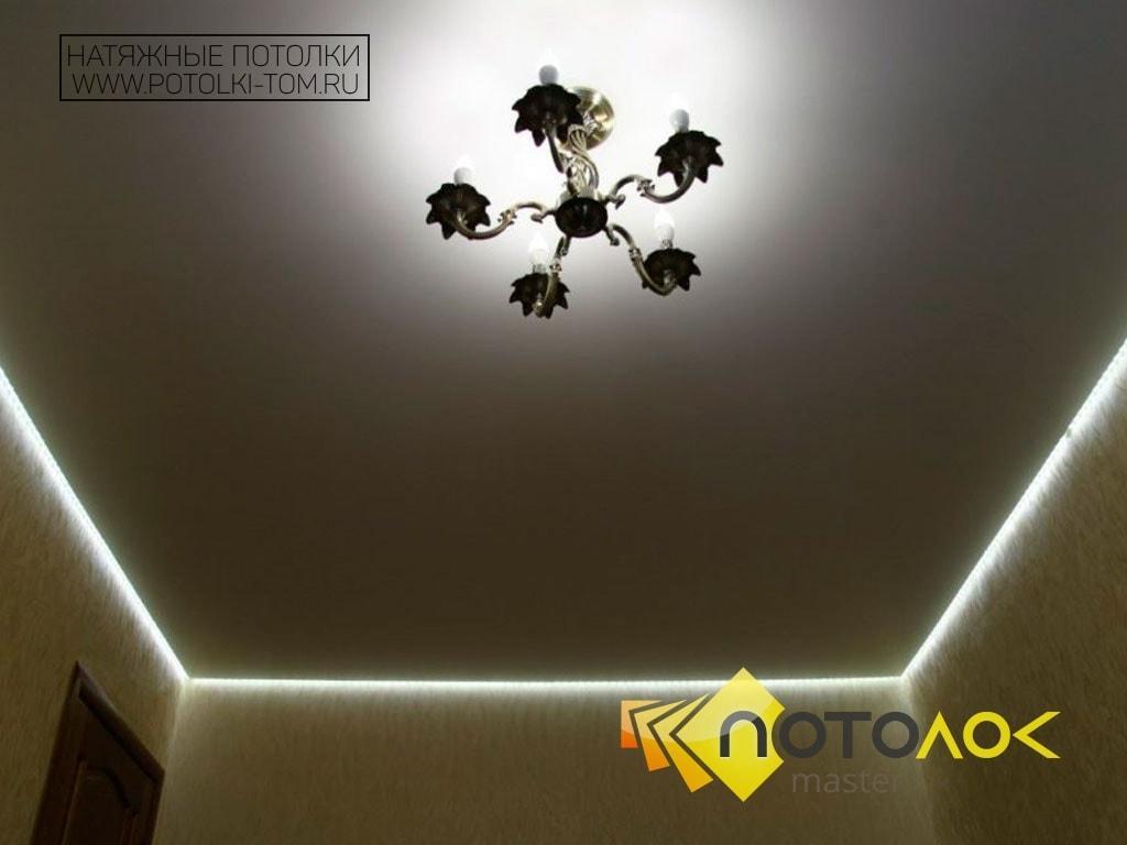 Светодиодные натяжные потолки цена в Томске и Северске. Рассчитать стоимость натяжного потолка.