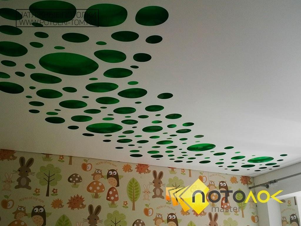 Перфорированные потолки фото