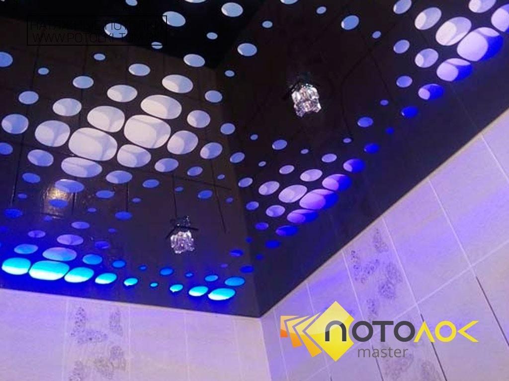 Натяжные потолки с перфорацией фото наших работ, компания производитель Потолок Мастер.