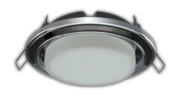 Светильники для натяжного потолка, установка светильников в натяжной потолок цена в Томске, ремонт и замена.