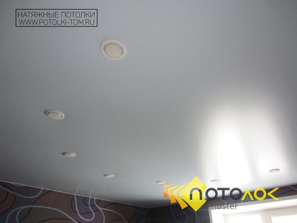Сатиновые натяжные потолки фото наших работ, компания производитель Потолок Мастер.