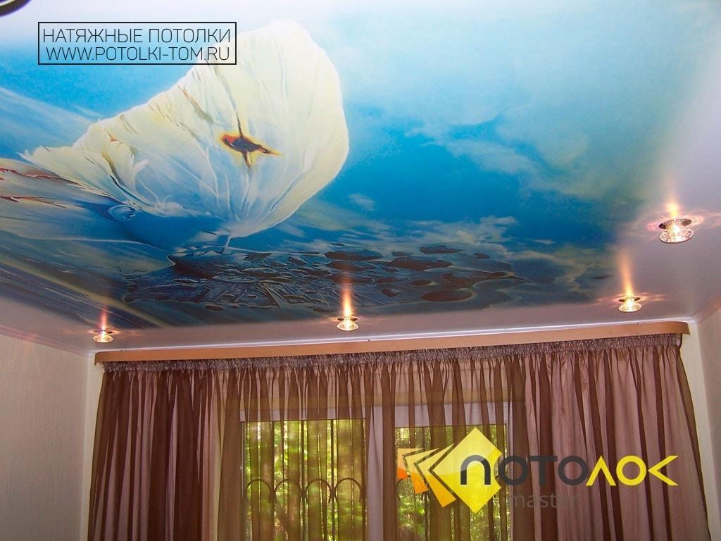 Натяжные потолки в спальне стоимость в Томске и Северске. Рассчитать стоимость натяжного потолка.