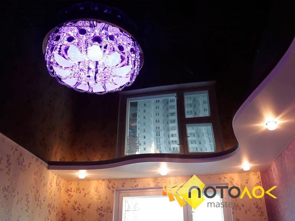 Натяжные потолки для спальни фото наших работ, компания производитель Потолок Мастер.