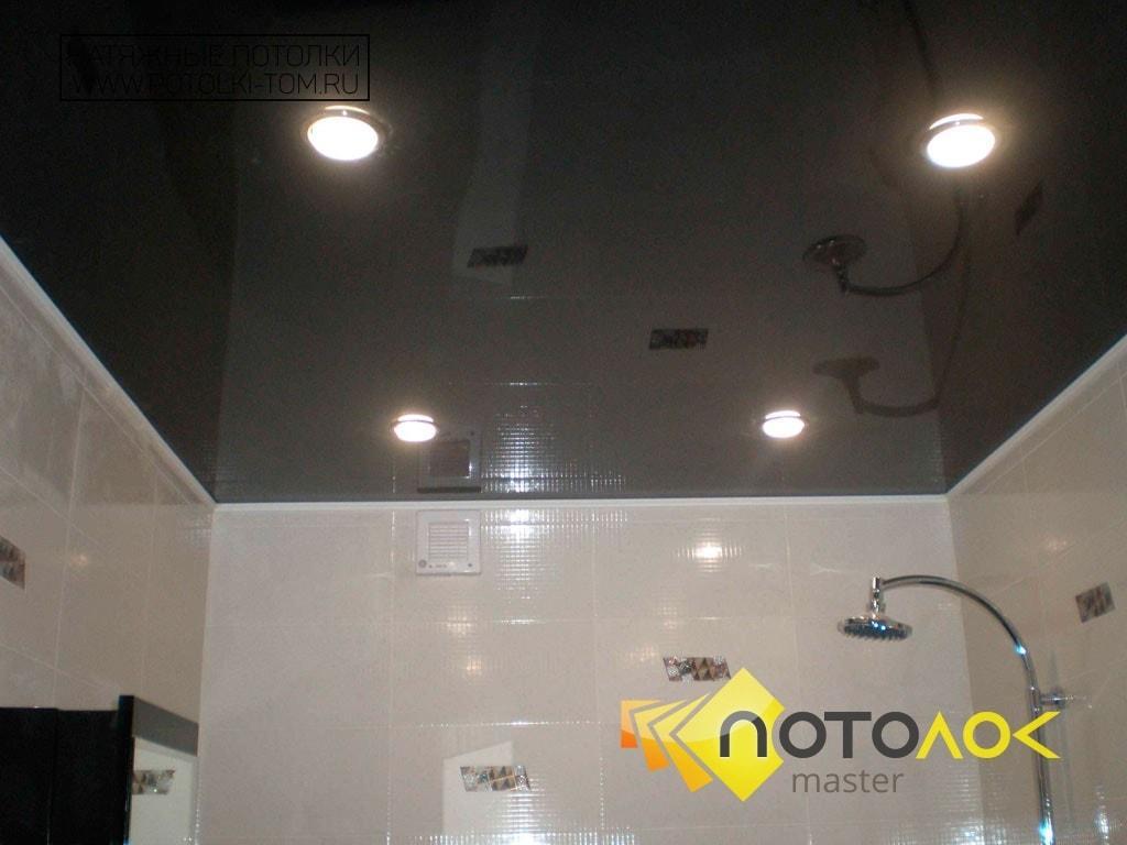 Черный натяжной потолок фото наших работ, компания производитель Потолок Мастер.