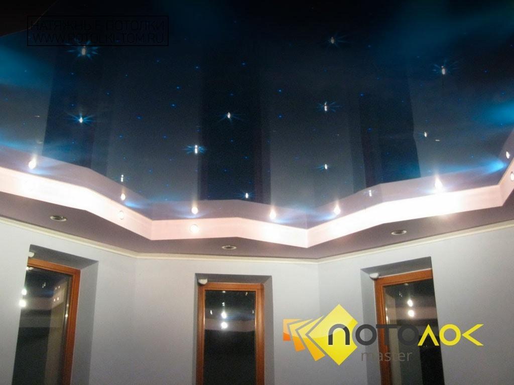 Натяжной потолок звездное небо фото наших работ, компания производитель Потолок Мастер.