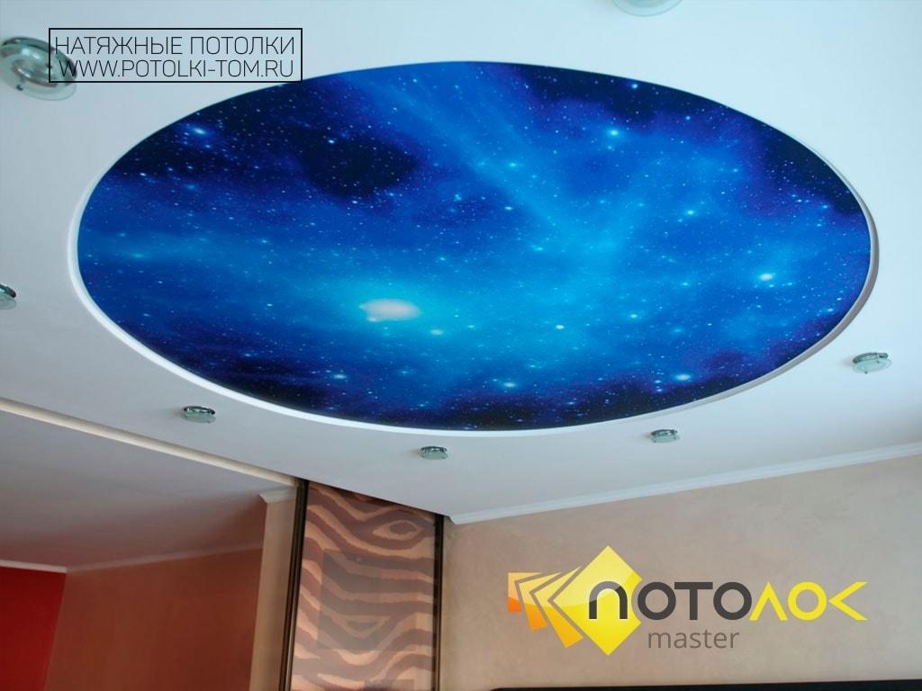 Звездное небо потолок фото